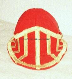 17th century English civil War montero cap